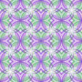 Design seamless decorative flower pattern Royalty Free Stock Photography