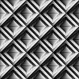Design seamless diamond convex pattern Royalty Free Stock Images
