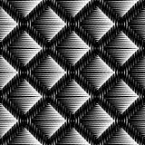 Design seamless diamond convex pattern Royalty Free Stock Photography