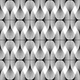 Design seamless diamond geometric pattern Royalty Free Stock Images