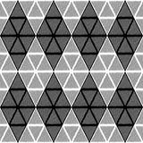 Design seamless diamond geometric pattern Stock Images