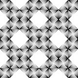 Design seamless diamond grid pattern Royalty Free Stock Photography