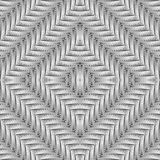 Design seamless diamond interlaced pattern Stock Image