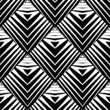 Design seamless diamond pattern Stock Photos