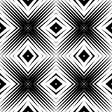 Design seamless diamond pattern Stock Photography