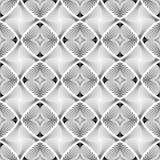 Design seamless diamond striped geometric pattern Royalty Free Stock Image