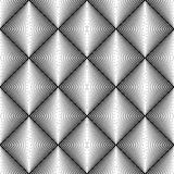 Design seamless diamond trellised pattern Royalty Free Stock Images