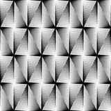 Design seamless diamond trellised pattern Royalty Free Stock Photography