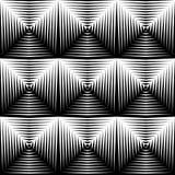 Design seamless diamond trellised pattern Royalty Free Stock Photography