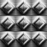 Design seamless diamond trellised pattern Stock Images