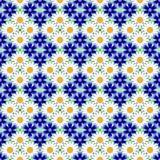 Design seamless flower pattern Stock Image