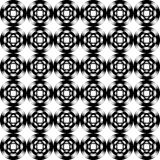 Design seamless geometric pattern. Monochrome trel Royalty Free Stock Images