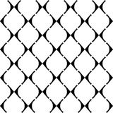 Design seamless grid geometric pattern Royalty Free Stock Images