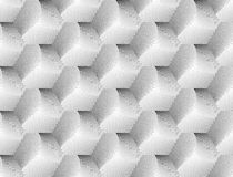 Design seamless hexagon geometric pattern Stock Photography