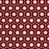 Design seamless hexagon geometric pattern. Colorfu Royalty Free Stock Photos