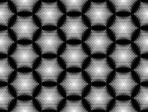 Design seamless hexagon geometric pattern Royalty Free Stock Photography