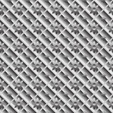 Design seamless metallic diagonal pattern Stock Photography