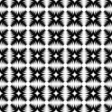 Design seamless monochrome abstract cross pattern Royalty Free Stock Photography
