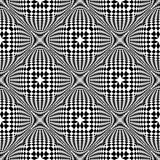 Design seamless monochrome checked pattern Royalty Free Stock Image