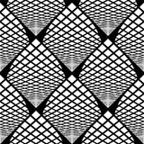 Design seamless monochrome checked pattern Royalty Free Stock Photo