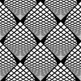 Design seamless monochrome checked pattern Royalty Free Stock Photo