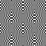Design Seamless Monochrome Checkered Background Royalty Free Stock Image