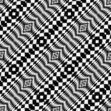 Design seamless monochrome checkered background Royalty Free Stock Photo