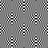 Design seamless monochrome checkered background Royalty Free Stock Image