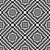 Design seamless monochrome checkered background Royalty Free Stock Photo