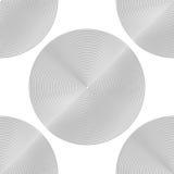 Design seamless monochrome circle background Royalty Free Stock Photography