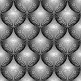 Design seamless monochrome circular pattern Royalty Free Stock Photo