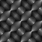 Design seamless monochrome convex pattern Royalty Free Stock Image