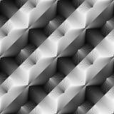 Design seamless monochrome convex pattern Stock Photos