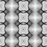 Design seamless monochrome decorative pattern Stock Images