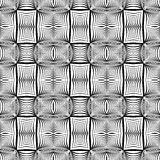 Design seamless monochrome decorative pattern Royalty Free Stock Photography