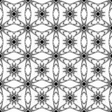 Design seamless monochrome decorative pattern Stock Photos