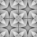 Design seamless monochrome decorative pattern Royalty Free Stock Photography