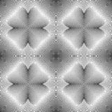 Design seamless monochrome decorative pattern Royalty Free Stock Photo