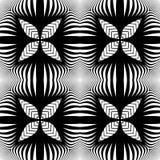 Design seamless monochrome decorative pattern Stock Photography