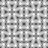 Design seamless monochrome decorative pattern Stock Photos