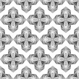 Design seamless monochrome decorative pattern Royalty Free Stock Photos