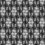 Design seamless monochrome decorative pattern Stock Photo