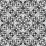 Design seamless monochrome diagonal decorative flo Royalty Free Stock Photography