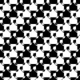 Design seamless monochrome diagonal pattern Royalty Free Stock Photos