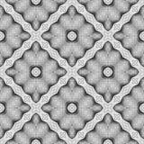 Design seamless monochrome diamond pattern Stock Photo