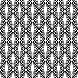 Design seamless monochrome diamond pattern. Abstract geometric t Royalty Free Stock Photography