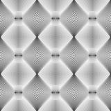 Design seamless monochrome diamond pattern Royalty Free Stock Photo