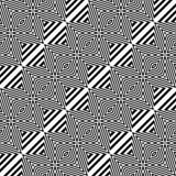 Design seamless monochrome diamond pattern Stock Photos