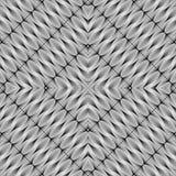 Design seamless monochrome diamond pattern Royalty Free Stock Photography