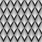 Design seamless monochrome diamond pattern Royalty Free Stock Photo